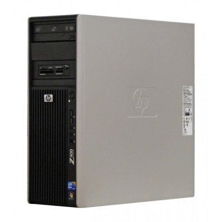 Workstation HP Z400, Intel Quad Core Xeon W3580 3.33 Ghz, 8 GB DDR3 ECC, 250 GB HDD SATA, DVD, Placa grafica nVidia Quadro NVS