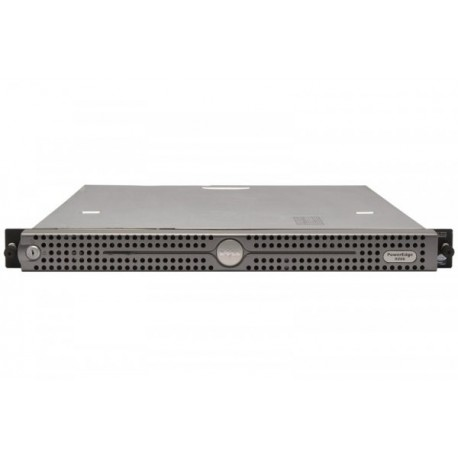 Server Dell PowerEdge R200 Rackabil 1U, Intel Quad Core Xeon X3220 2.4 GHz, 4 GB DDR2, DVD-CDRW, 1 x Sursa, GARANTIE 2 ANI