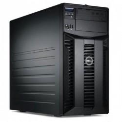 Server Dell PowerEdge T310, Tower, Intel Quad Core Xeon X3430 2.4 GHz, 2 GB DDR3 ECC, 4 x 250 GB SSD SAMSUNG NOU, DVDRW, Raid