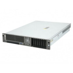 Server HP DL380 G5, Rackabil 2U, 2 Procesoare Intel Quad Core Xeon E5345 2.33 GHz, 4 GB DDR2 ECC FB, DVD-CDRW