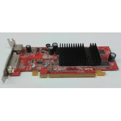 Placa video Ati Radeon X600, PCI-e 16x, 128 MB DDR, DVI, S-Video, low profile