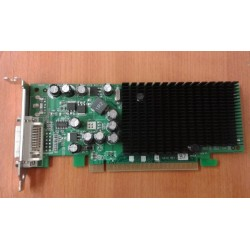 Placa video NVIDIA GeForce 6200LE, 128MB, DVI, PCI-e 16x, Low Profile