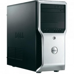 Workstation Dell Precision T1600 Tower, Intel Xeon E3-1245 3.3 GHz, 2 GB DDR3, 500 GB HDD SATA, DVDRW, nVidia Quadro NVS 295