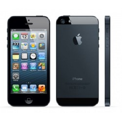Telefon Apple iPhone 5 Black, 16 GB, Wi-Fi, fara incarcator, fara cablu de date, pata display