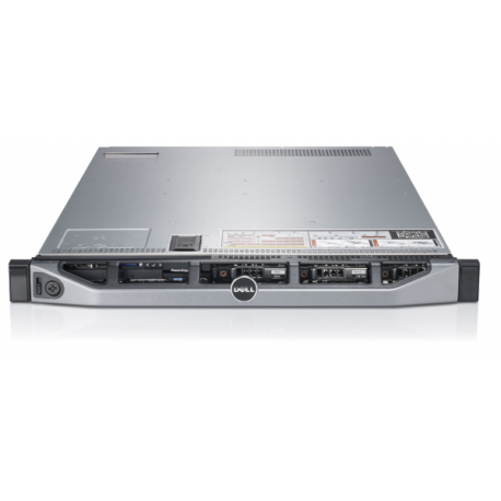 Server DELL PowerEdge R610, Rackabil 1U, 2 Procesoare Intel Quad Core Xeon E5620 2.4 GHz, 8 GB DDR3 ECC Reg, DVD-ROM, Raid