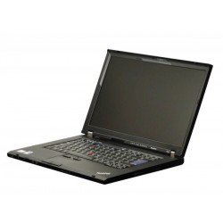 Laptop Lenovo ThinkPad T500, Intel Core 2 Duo P8600 2.4 GHz, 3 GB DDR3, 160 GB HDD SATA, DVD, Placa video ATI Radeon HD 3650,