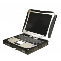 Laptop Panasonic Toughbook CF-19 , Intel Core 2 Duo U7500 1,06 GHz, 1 GB DDR2, 80 GB HDD SATA, WI-FI, Bluetooth, Display
