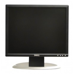 Monitor 17 inch LCD DELL 1704FP, Silver & Black, Panou Grad B