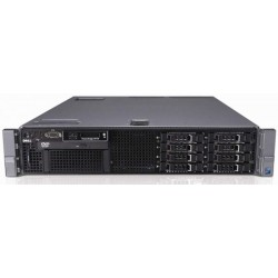 Server DELL PowerEdge R710, Rackabil 2U, 2 Procesoare Intel Six Core Xeon X5675 3.07 GHz, 48 GB DDR3 ECC Reg, 8 x 240 GB SSD