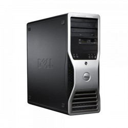 Workstation Dell Precision T5400 Tower, Intel Xeon E5430 2.66 GHz, 4 GB DDR2, 160 GB HDD SATA, DVDRW, Placa Grafica nVidia