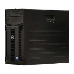 Server Dell PowerEdge T310, Tower, Intel Quad Core Xeon X3430 2.4 GHz, 2 GB DDR3 ECC, 4 x 1 TB HDD SAS NOU, DVDRW, Raid