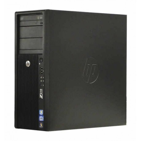Workstation HP Z210 Tower, Intel Core i7 2600 3.4 GHz, 4 GB DDR3, 320 GB HDD SATA, DVD, Windows 10, Garantie pe Viata