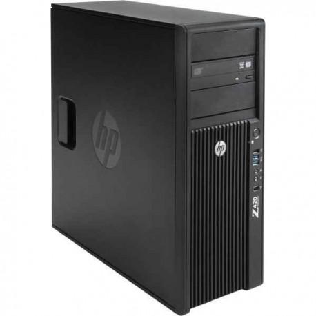 Workstation HP Z420 Tower, Intel Quad Core Xeon E5-1620 3.6 GHz, 32 GB DDR3 ECC, 500 GB HDD SATA, DVD-ROM, nVidia Quadro K2000,