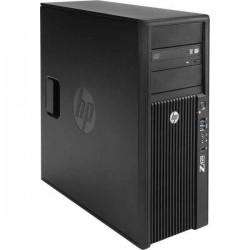 Workstation HP Z420 Tower, Intel Quad Core Xeon E5-1620 3.6 GHz, 32 GB DDR3 ECC, 2 TB HDD SATA NOU, DVD-ROM, nVidia Quadro