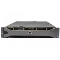 Server DELL PowerEdge R810, Rackabil 2U, 4 Procesoare Intel Six Core Xeon E7540 2.0 GHz, 16 GB DDR3 Reg, DVD-ROM, Raid