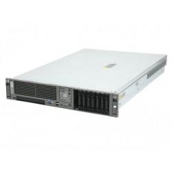 Server HP DL380 G5, Rackabil 2U, 2 Procesoare Intel Quad Core Xeon E5345 2.33 GHz, 4 GB DDR2 ECC FB, DVD-CDRW