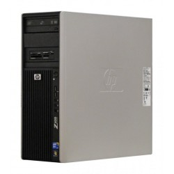 Workstation HP Z400 Tower, Intel Xeon W3580 3.33 GHz, 8 GB DDR3 ECC, 250 GB HDD SATA, DVD-ROM, nVidia Quadro NVS 295