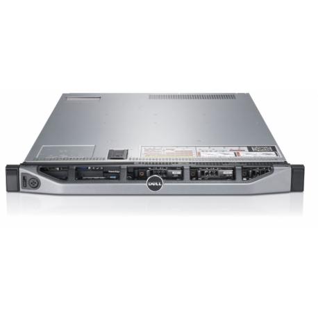 Server DELL PowerEdge R610, Rackabil 1U, 2 Procesoare Intel Quad Core Xeon E5620 2.4 GHz, 16 GB DDR3 ECC Reg, 4 x 1 TB HDD SATA