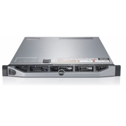 Server DELL PowerEdge R610, Rackabil 1U, 2 Procesoare Intel Quad Core Xeon E5620 2.4 GHz, 8 GB DDR3 ECC Reg, 2 x 120 GB SSD NOU,