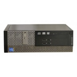 Calculator Dell Optiplex 3020 Desktop SFF, Intel Core i3 4130 3.4 GHz, 4 GB DDR3, 500 GB HDD SATA, DVDRW, Windows 7 Home
