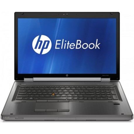 Laptop HP EliteBook 8760w, Intel Core i5 2520M 2.5 Ghz, 4 GB DDR3, 320 GB HDD SATA, DVDRW, Placa video nVidia Quadro 3000M,